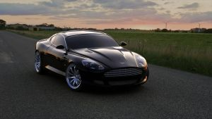 Aston Marin DB9 by Trisquote