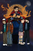 Doctor Stranger Things by bluehorse-rmd