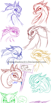 Expressions 1 by xNeonshadow21