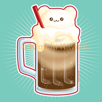 Rootbearfloat - Exclusive for my Kickstarter by kimchikawaii