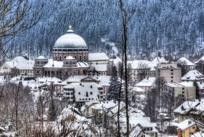 St Blasien in the Snow by cprmay