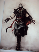 Ezio Oil Painting by Nici666