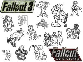 Fallout-NV A-G Perks Icons MAC by xnauticalstar