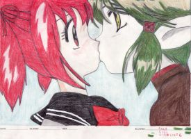 ichigo kisshu first kiss by graceuchiha