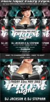 Prom Night Party Flyer Template by Hotpindesigns