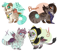 Chibi Owline Giveaways by Fenny-Fang