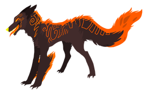 Dog design by Cremsie