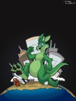 Round the World by teaselbone