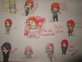 Hayley Williams chibi videos by kirby-kta-tsuki