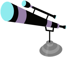 Telescope Vector by RainbowDerp98