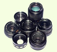 Old lenses by cathy001
