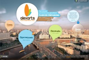 Alexarts. My new Portfolio by abramov