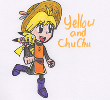 Yellow and Chu Chu by Piplup88908