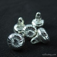 Silver buttons from medieval Russia by Sulislaw