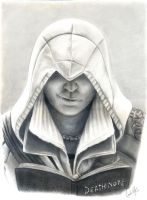 Ezio Auditore's Death Note by carla-ng