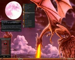 Win7 Dragon Theme by KeybrdCowboy