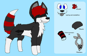 Justin refrence sheet 2012-2013 by huskynugget