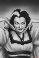 Lily Munster by gerky-art