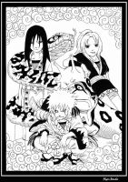 Legendary Sannin by FlyerPanda