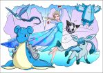 Queen Elsa Pokemon Trainer by jmascia