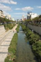 Cheonggyecheon by Falbet