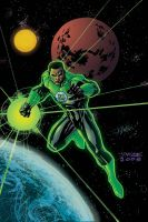 Jim Lee Green Lantern by ChrisSummersArts