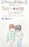 DeathNote Yaoi L and Light v1 by Rini2012
