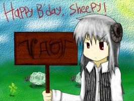 Happy B'Day Sheepeh by RayXDGreatX