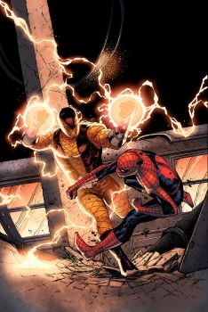 Spider Man Thursday 13 Color by logicfun