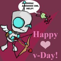 V-Day Gir by 4Anime