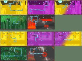 HS - Snakestuck level design layouts by ChibiEdo