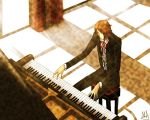 Piano Memories [APH] Romania by MonochromArlechino