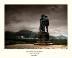 Commando Memorial, Scotland by ArwensGrace
