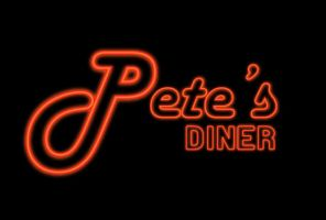 Pete's Diner Logo by Kittensoft