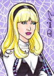 Spider-Gwen ACEO by micQuestion