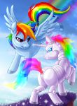 Rainbow Dash vs Robot Unicorn: Redone by littleFernanda