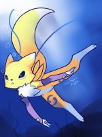 Renamon by drantyno