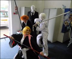 Slenderman and Bleach? by MJ-Cosplay