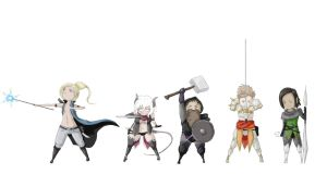 My DnD party! by pyshe