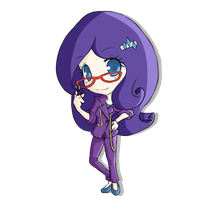 Chibi Rarity by rhamana