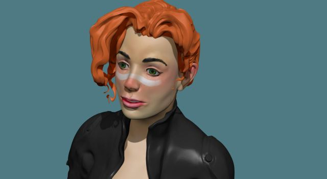 Agent, learning zbrush by punchyninja