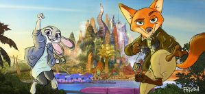 Zootopia's finest by Frava8