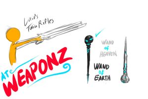 Weaponz by Ask-Evin