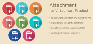 Attachment for Virtuemart Product by CmsChanel