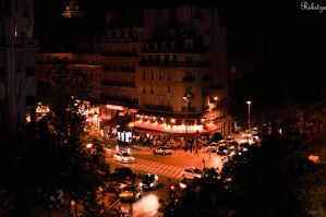 Night - Paris by Rikitza