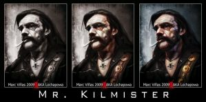 Mr. Kilmister by LochaPowa