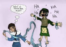 Toph's Tickle Test By Natjack by neverb4