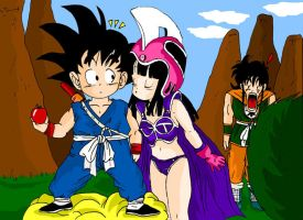 Goku and Chichi Contest 3 by Gosha-Chan