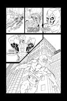Deadpool vs. .... Deadpool...? by THExEVILxTW1N