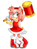 Amy Rose by CheloStracks